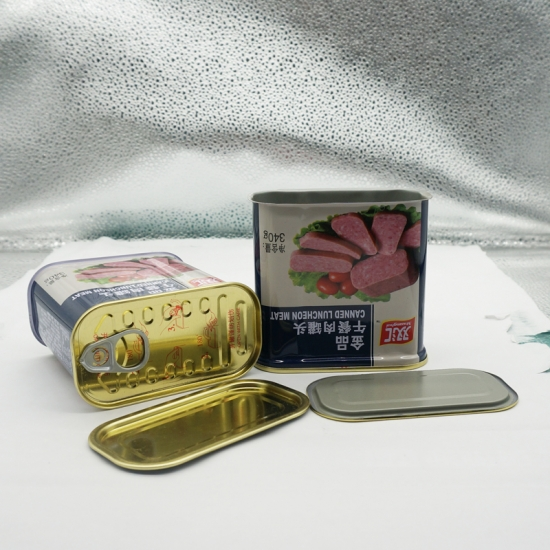 340# Food Grade Luncheon Meat Metal Tin Can