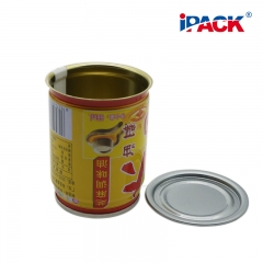 Food Safety Tin Can