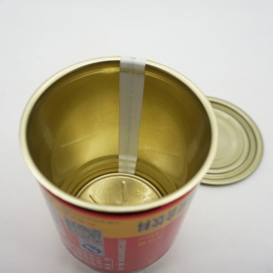 Customize Round Empty Metal Tin Can For Packaging