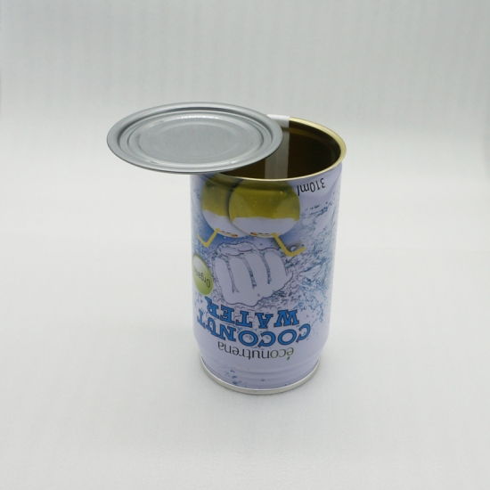 330ml Empty Easy Open Metal Cans End for Beverages packing