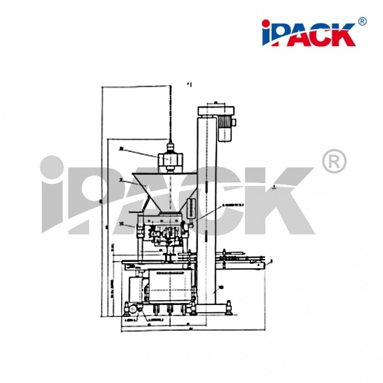 IP-C65  Irregular-Can Filling Machine