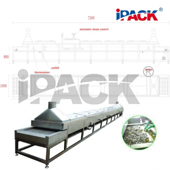 IPACk-TC12 Fish Steam Cooker