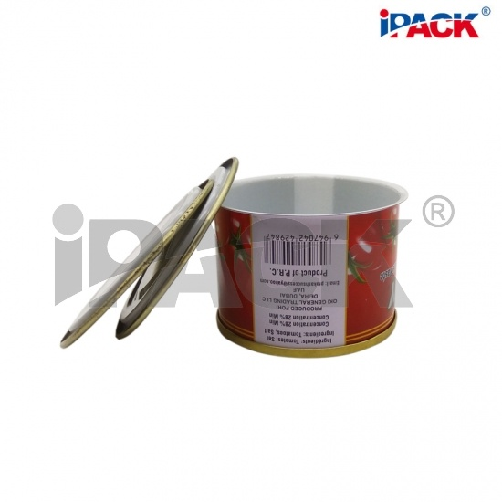 539 Empty Food Safe Tin Can Supplier For Tomato Paste Packaging