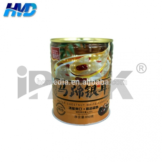 9124# Round Metal food tin can Supplier