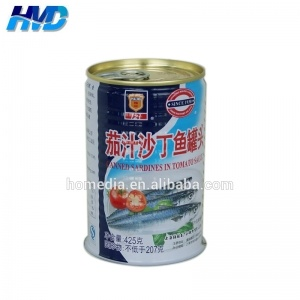 7113 Empty Round Tin Can