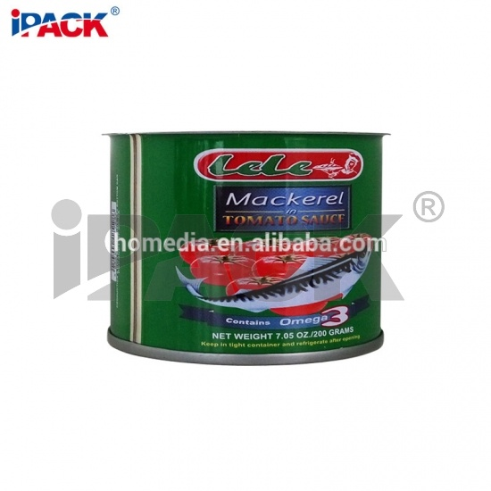 300x203 Empty BPA Free Round Tin Cans For Fish Packing