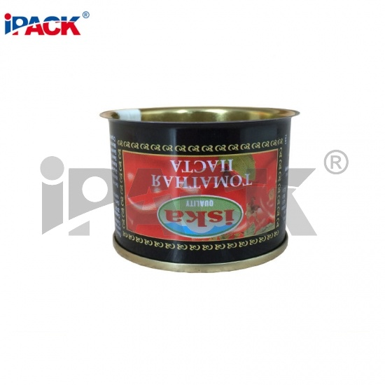 Factory Directly Empty Easy Open Tin Can Food Tomato Paster Packing 539#