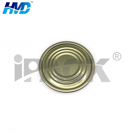 Wholesale Tinplate Lid  Normal Bottom Tin Lid for Food Can