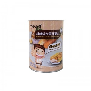 Round Food Tin Can