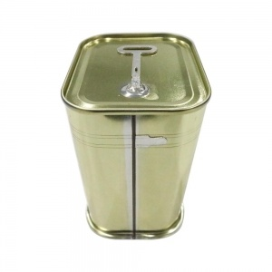 Square Food Grade Tin Can
