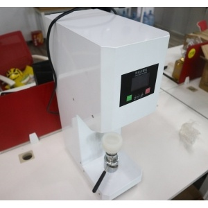 plastic metal tin bottle tank cap lid seamer/ enclosing sealing paper automatic can seaming machine from INTERPACK GROUP INC.
