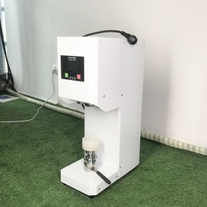 wholesale Semi-automatic durable electric plastic bottle cans sealing machine from INTERPACK GROUP INC.