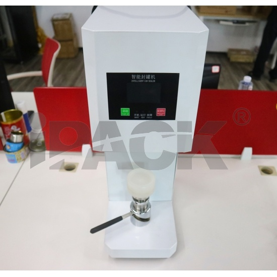 Automatic Metal Bottle Head Beer Tin Cans Lid Sealing Machine