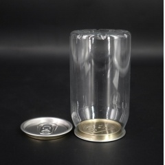 Wholesale 330ml Transparency Pet Round Beverage Plastic Bottle for Juice Packaging from INTERPACK GROUP INC.