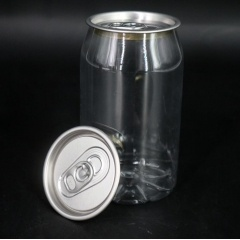 250ml/330ml 500ml/650ml Plastic Bottle Juice Disposable Beverage Pet Bottles with Lid from INTERPACK GROUP INC.