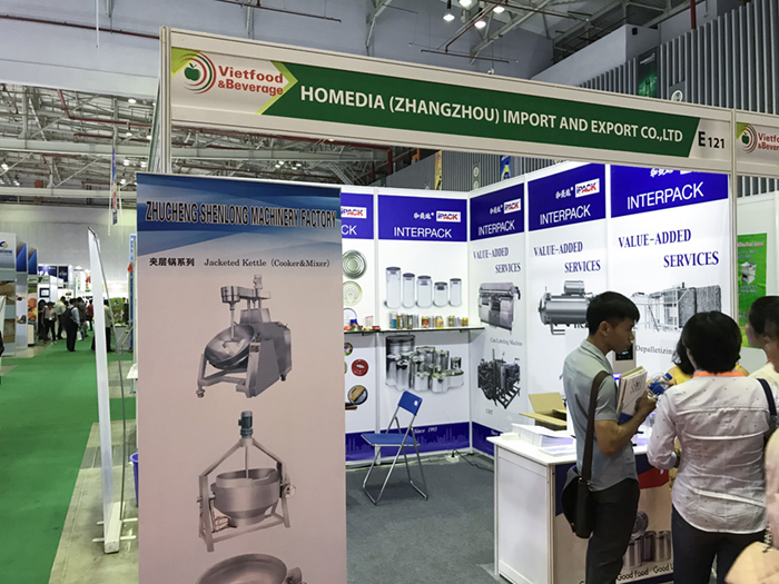 The 23rd VietFood, Beverage and Professional Packing Machines The exhibition